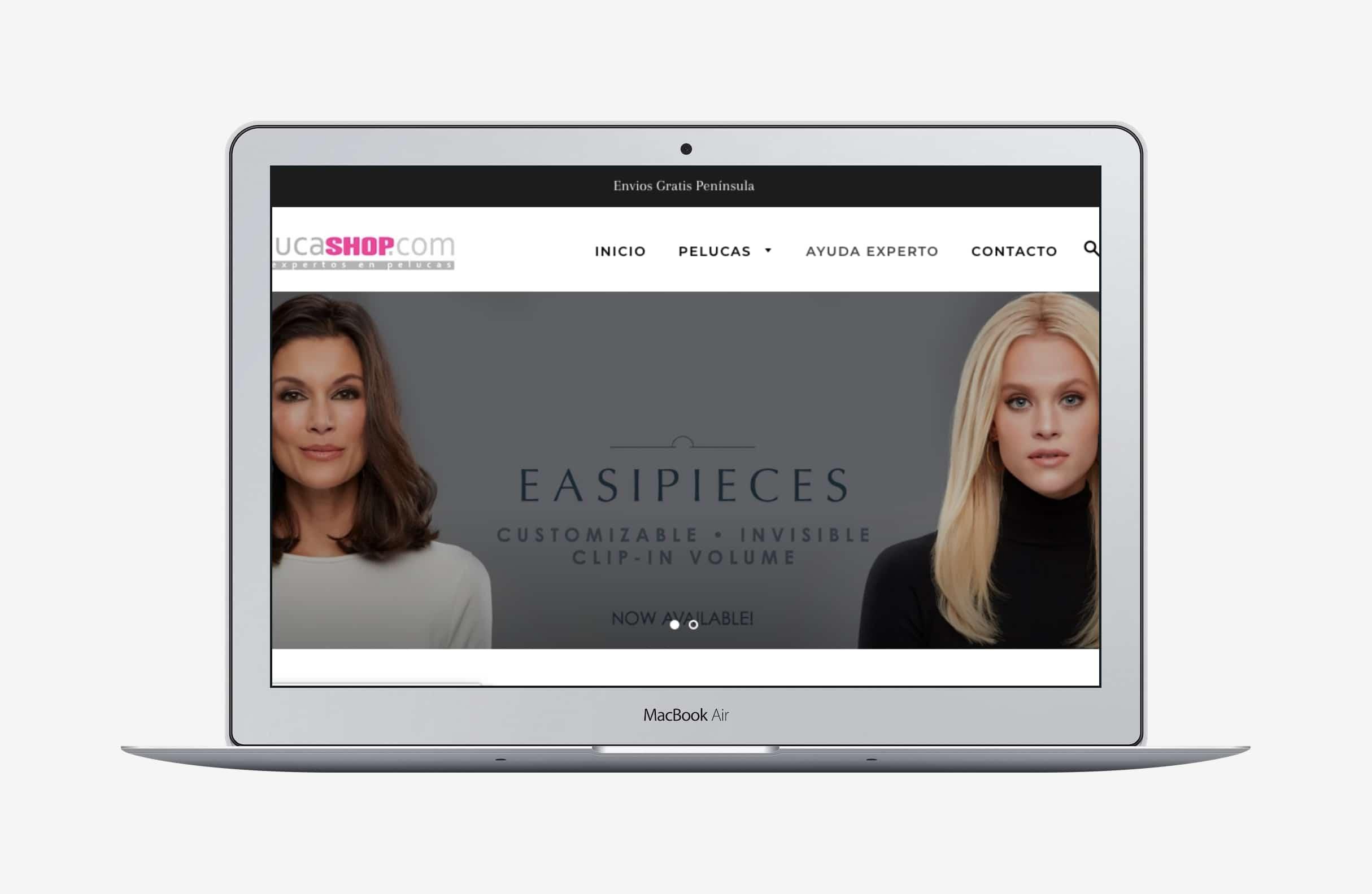 tienda online desarrollada en shopify